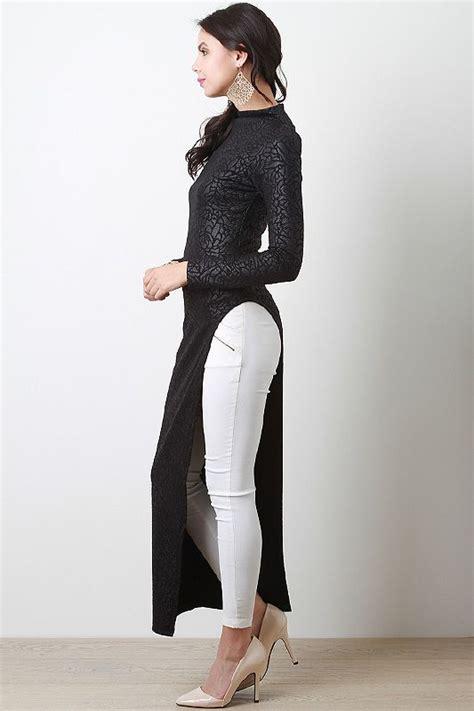 Fashion Wanita Slit Maxi Terlaris maxis and tops on