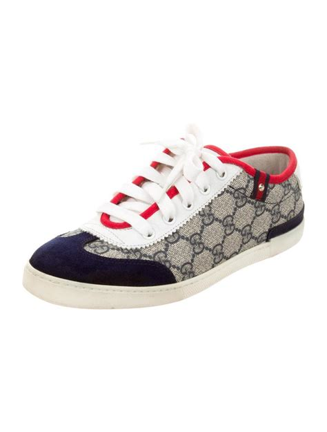 gucci athletic shoes gucci sneaker blue white athletic shoes
