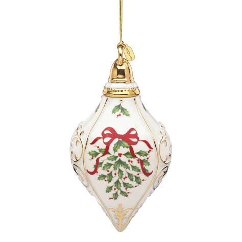 lenox annual holiday ornament 2017 lenox christmas ornaments