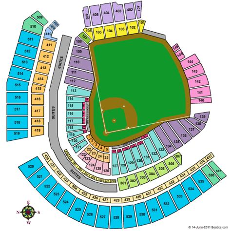 cincinnati reds seating chart with seat numbers cincinnati reds seating diagram pictures to pin on