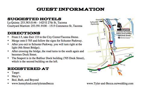 wedding guest information wording anatomy of a wedding invitation bexbernard