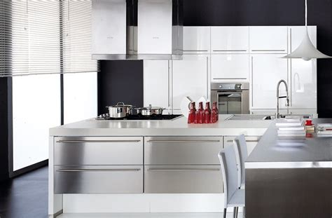 Charmant Cuisine Equipee Blanc Laquee #1: cuisine-blanc-laquee-1268751591.jpg