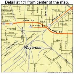waycross map 1380956