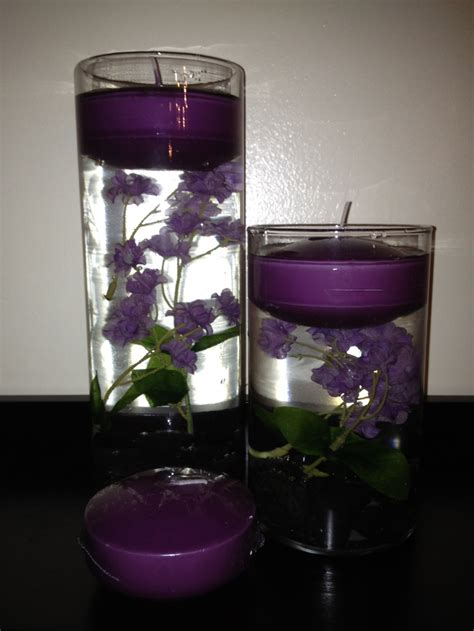 Vases With Floating Candles by Cylinder Vases With Floating Candles Bridal Shower