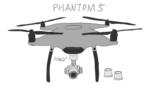 Drone Phantom 5 more leaked pictures of the rumored dji phantom 5 drone with interchangeable lens photo
