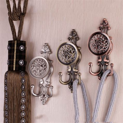 decorative curtain wall hooks new fashion high quality curtain accessories crystal