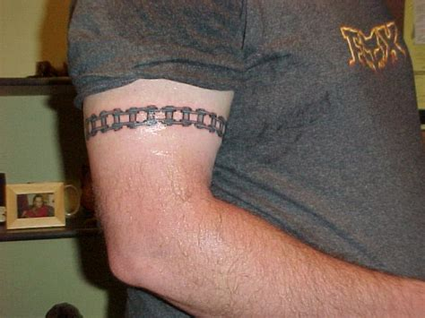 chain tattoos for men 15 motorcycle chain tattoos