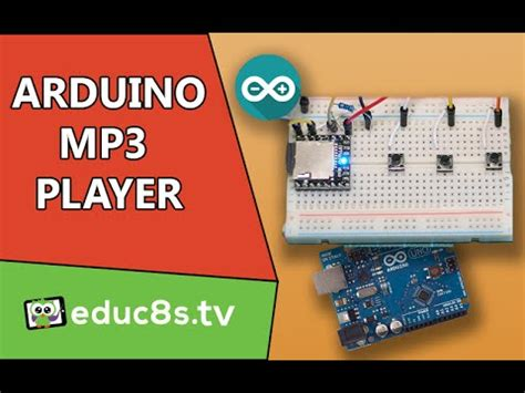 arduino project mp player  arduino  dfplayer
