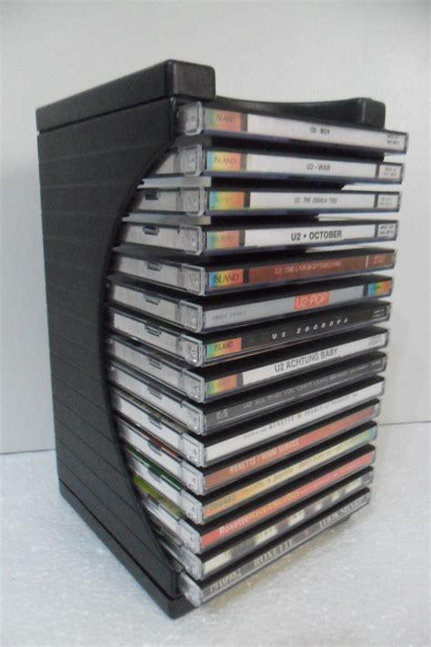 porta cd porta cd modular organizador p 15 cds cd box 15 r