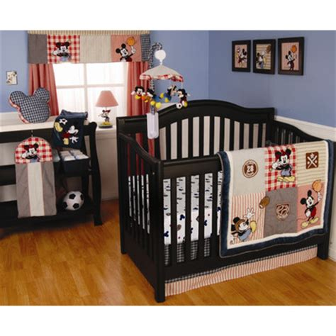 Mickey Crib Bedding Disney Baby Bedding Wayfair