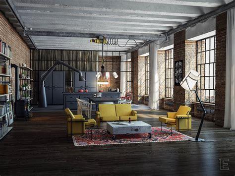 loft industrial industrial loftindustrial loftindustrial loft interiors