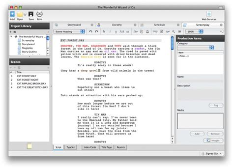 Screenwriting Podcasts Magic by Five Screenwriting Software Applications 50 And