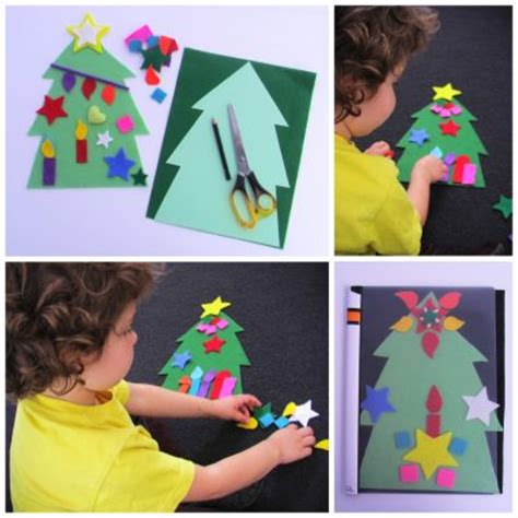 felt christmas tree fun family crafts