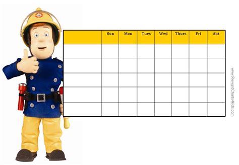 free printable reward charts kids