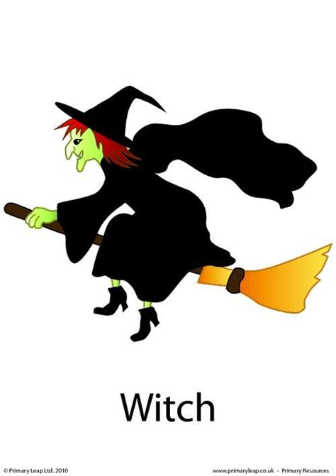halloween flashcards printable primaryleap co uk halloween flashcard witch worksheet