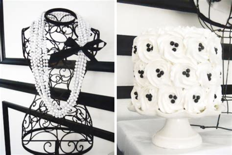 Chanel Inspired Home Decor Chic Coco Chanel Inspired 30th Birthday Birthday Ideas Themes