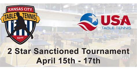 2016 Kansas City Table Tennis Fall Tournament