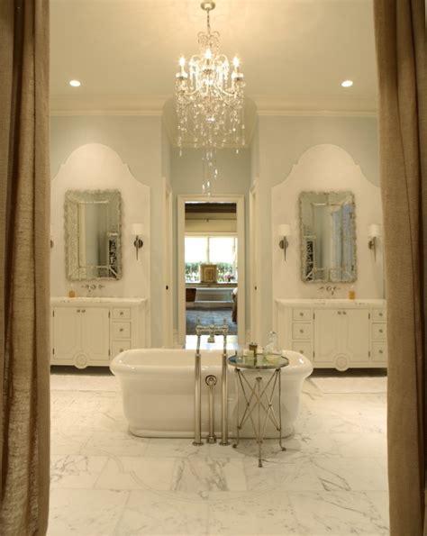 chandelier over bathtub bathtub backsplash ideas traditional bathroom