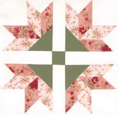 Flower Quilt Block Patterns by Four Corner Flowers Quilt Block Howstuffworks