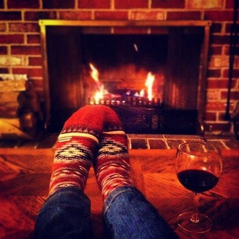sock fireplace i cozy socks in the fireplace and wine