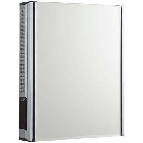 kohler 20 in x 26 in surface mount medicine cabinet with