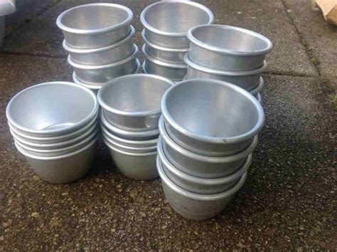 Cater Bowl Discon 30 secondhand catering equipment cooking pots pans and saucepans 30x pudding bowls west midlands
