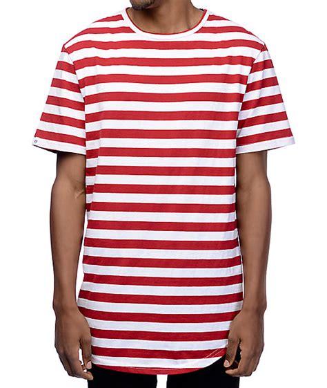 7 Striped Tops I by Zine Halfsies White Striped T Shirt Zumiez
