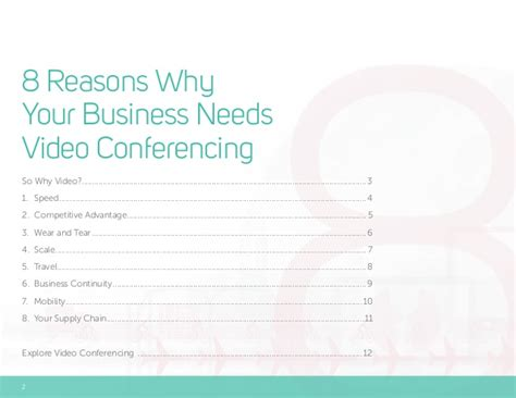 8 Reasons Not To Hit Your by 8 Reasons Why Your Business Needs Conferencing