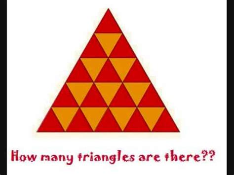how many are there how many triangles are there