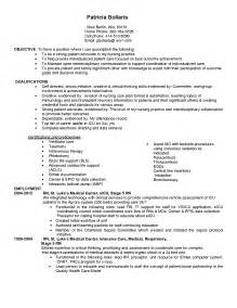 nursing resumes perth example good template
