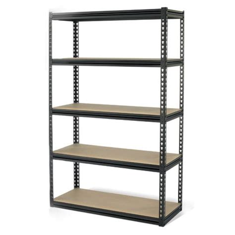 Cheap Shelf Unit gt cheap gorilla rack grz6 4824 5imp 5 shelf 48 by 24 by 72 inch shelving unit black for