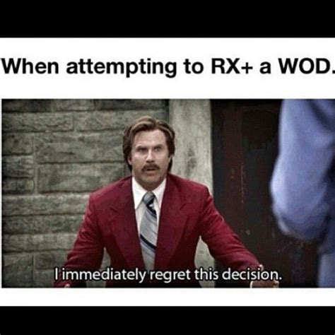 Crossfit Meme - anchorman crossfit meme crossfit memes quotes