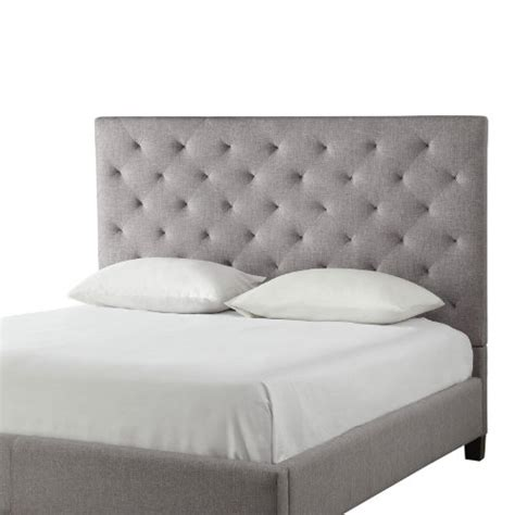 padded headboard squares modern diamond button tufted upholstered padded square