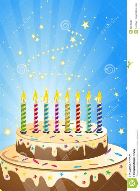 torta de cumplea 241 os con las velas del cumplea 241 os torta de cumplea 241 os con las velas coloridas fotos de