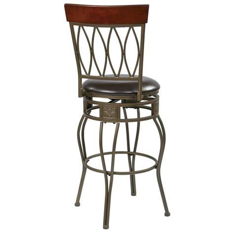30 quot metal swivel bar stool in espresso csm2530 es 30 quot metal swivel bar stool in espresso csm2630 es