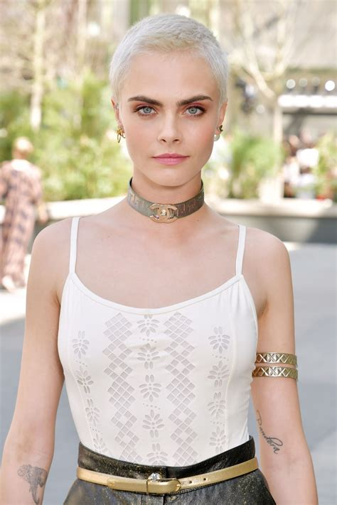 cara delevingne chanel show at haute couture paris