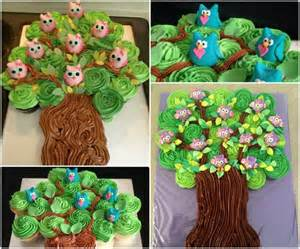 owl pull apart cake the whoot