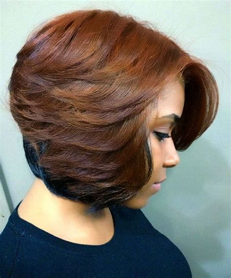 black short bob and feathered out best 25 feathered bob ideas on pinterest layered bob