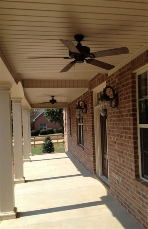 patio ceiling fan installation southern charm outdoor patio ceiling fans nytexas