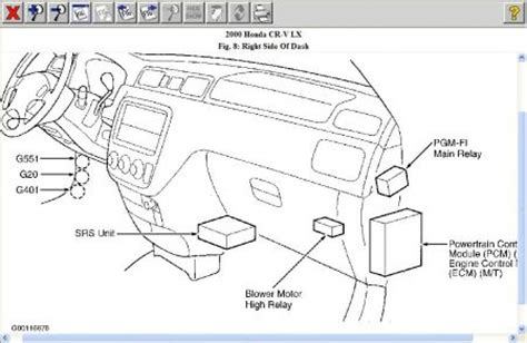 2000 honda accord fuel relay location 2001 honda accord fuel relay 2001 free engine image