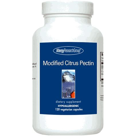 Modified Citrus Pectin Heavy Metal Detox by Allergy Research Modified Citrus Pectin Immune System