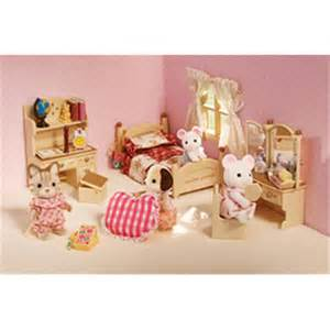 Calico Critters Bedroom Set International Playthings Cc2268 Sister S Bedroom Set