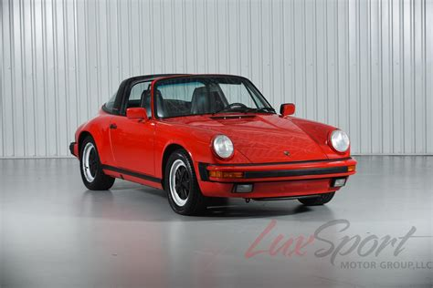 Porsche 911 Targa 1988 by 1988 Porsche 911 Carrera Targa Used Porsche 911 For Sale