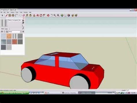 google sketchup car tutorial how to make simple car in google sketchup tutorial