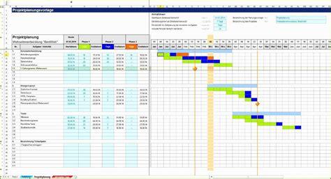 excel vorlage projektplan das beste von projektplanung mit