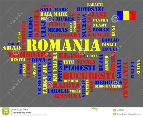 abstract format cdr abstract map of romania cdr format royalty free stock