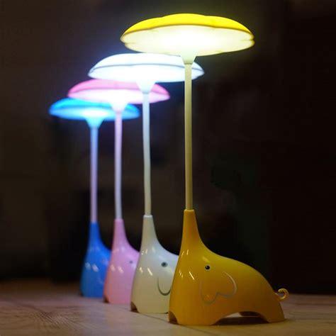 bedroom night light 2018 cute elephant night lights bedroom table l