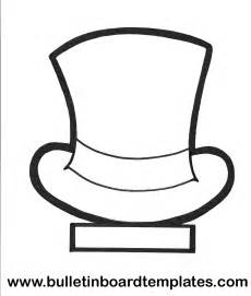 Top Hat Template For by Top Hat Template Birthday