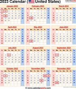 when is thanksgiving 2023 2023 calendar for the usa with us federal holidays