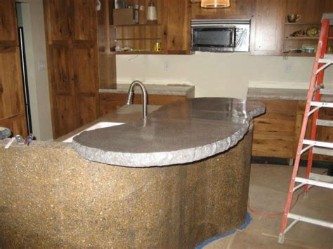 Make Your Own Laminate Countertop by 13 Different Ways To Make Your Own Concrete Kitchen